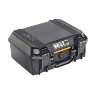 Pelican VAULT V200 14″ × 10″ × 5.5″ Medium Pistol Case Firearm Accessories