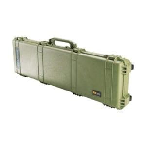 Pelican 1750  53.00″ x 16.00″ x 6.12″ Long Case – Green Firearm Accessories