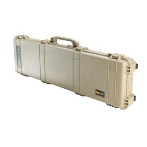 Pelican 1750 53.00″ x 16.00″ x 6.12″ (Ext) Long Case w/Foam – Tan Firearm Accessories