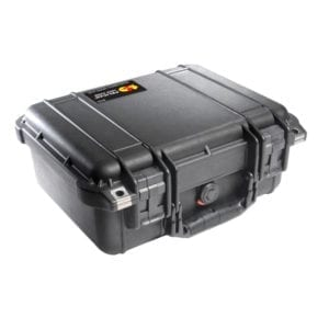 Pelican 1400 Protector Case, w/TSA Lock – Black Accessories