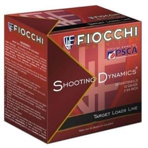 Fiocchi Shooting Dynamics 12 Gauge 2-3/4 in 1-1/8 oz #7.5 Shotshells (Single Box) 12 Gauge
