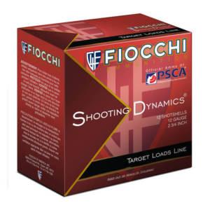 Fiocchi Shooting Dynamics 12 Gauge 2-3/4″ 1-1/8 oz #8 Shotshells – (Case) 12 Gauge
