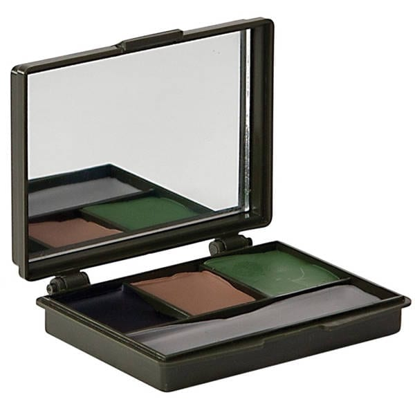 4 Color Camo Make-up Compact Accessories