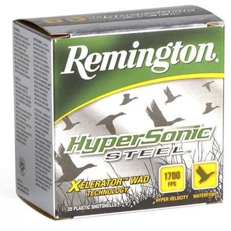 Remington HyperSonic 12 Gauge 3″ Steel Shot Shells 12 Gauge
