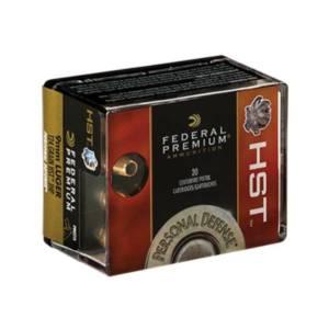 FEDERAL 9mm 124gr HST JHP 9MM