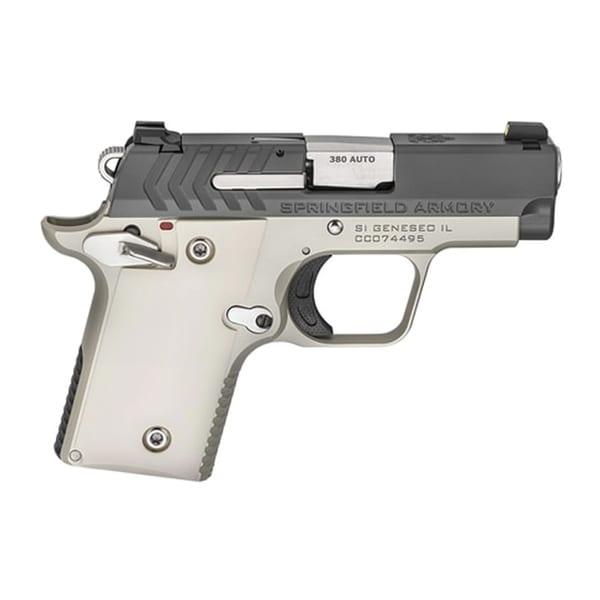 Springfield 911 Semi-Auto .380ACP 2.7″ Platinum Finish Pistol Firearms