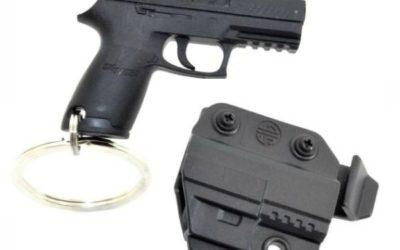 Sig Sauer Mini Sig P320 Clip-On Keychain