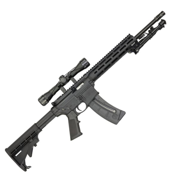 Smith & Wesson M&P15-.22 LR Sport II Promo Kit w/ Riflescope Firearms
