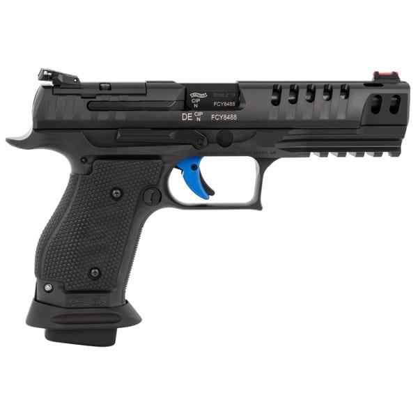 Walther PPQ Q5 Semi-Auto 9mm 5″ Match Steel Frame Pistol Firearms