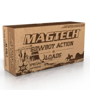 Magtech .45 Colt Ammunition 50 Rounds LFN 250 Grains 45D Ammunition