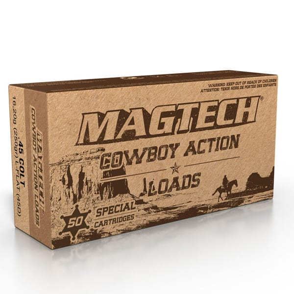 Magtech .45 Colt Ammunition 50 Rounds LFN 250 Grains 45D .45 Colt