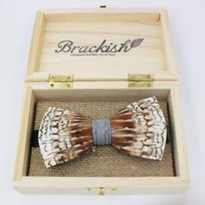 Brackish Grey Bobwhite 136 – 4.5″ x 2.5″ Bowtie Accessories
