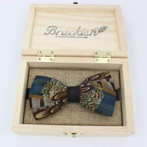 Brackish Pollock Bowtie 232 – 4.5″ x 2.5″ Bowtie Accessories