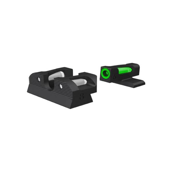 SIG Sauer X-Ray 3 Night Sight Set #6 Green Front #8 Square Rear