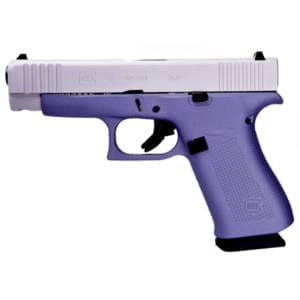 Glock G48 9MM Lavender 4″ Handgun Firearms