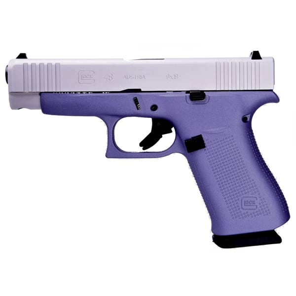 Glock G48 9MM Lavender 4″ Handgun Firearms