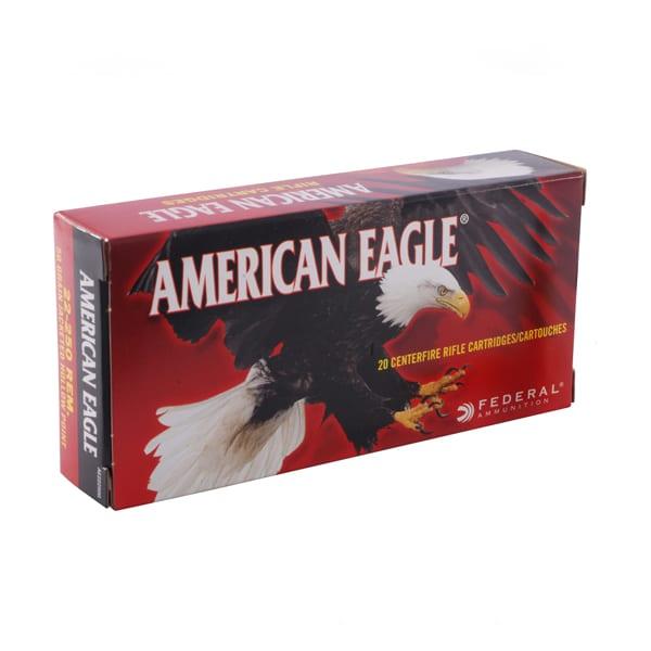 Federal American Eagle .22-250 Remington Varmint and Predator Ammunition Hollow Point  50 Grain .22-250 Remington