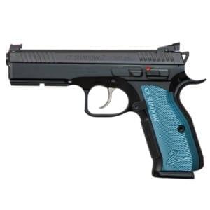 CZ SP-01 Shadow 2 – 9mm 4.9″ Blue Aluminum Handgun Firearms
