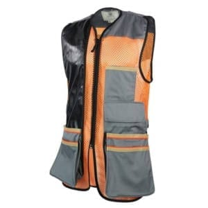 Beretta USA Two-Tone Faux Leather Shooting Vest 2.0 Men's Clothing