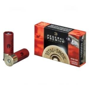 Federal Premium Vital-Shok Ammunition 12 Gauge 2-3/4″ 1 oz Box of 5 Ammunition