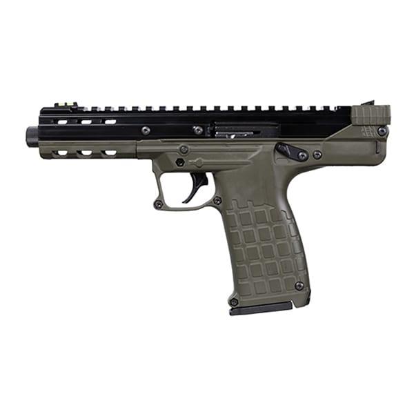 KEL-TEC CP33 Double 22LR 5.5″ OD Green Pistol Double Action