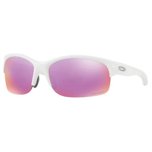 Woman's Oakley Commit Polished White Sunglasses Eyewear