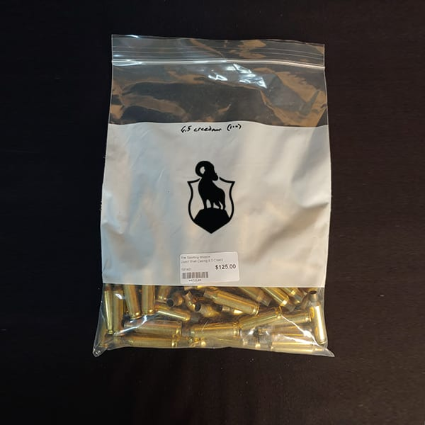 Once Fired Brass – 6.5 Creedmoor 100 Rounds Firearm Accessories