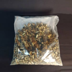 Once Fired Brass .45 ACP 1000 Rounds Once Fired Brass