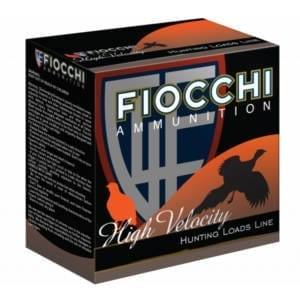 Fiocchi 12HV5 Shooting Dynamics High Velocity 12GA 2.75″ 1 1/4oz #5 Shot Ammunition