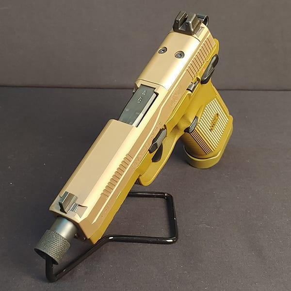 Pre-Owned – FN FNX-45 ACP Tactical FDE 5.3″ Handgun Firearms