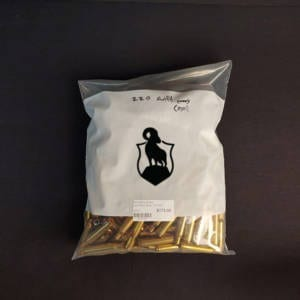 Once Fired Brass .220 Swift 250 Rounds Firearm Accessories