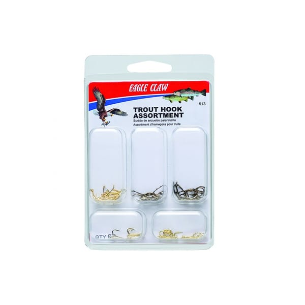 Eagle Claw Trout Hook Assortment #12-#8 Accessories
