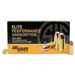 Elite Performance 9mm 147g Full Metal Jacket 9MM
