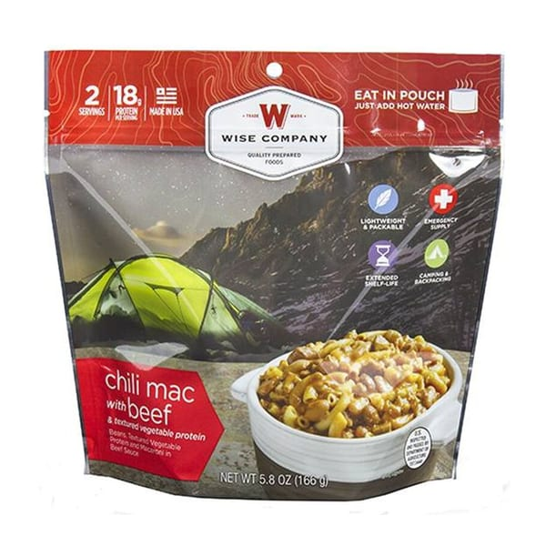 Desert High Chili Mac w/ Beef Camping Gear