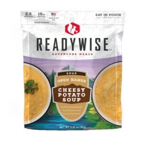 Open Range Cheesy Potato Soup Camping Gear
