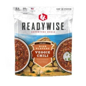 High Plateau Veggie Chili Soup Camping Gear