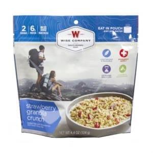 Wise Foods Strawberry Granola Crunch Camping Essentials