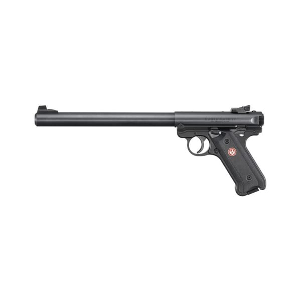 Ruger Mark IV Target Semi-Auto 22LR 10″ Pistol Firearms