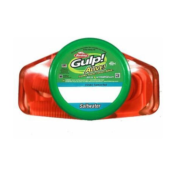 Berkley GASPG6-CH, 6″ Gulp! Alive! Grub Fishing