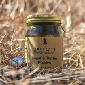 Bread N' Butter Pickles 16oz Preserve Farm Stand