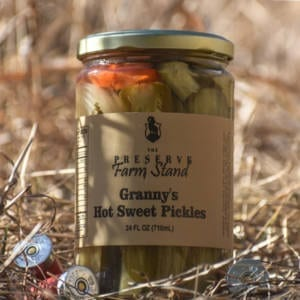 GRANNY'S HOT SWEET PICKLES Preserve Farm Stand