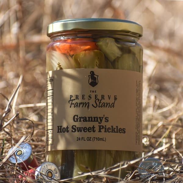 GRANNY'S HOT SWEET PICKLES Preserve Farm Stand