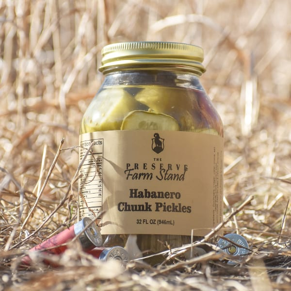 Habanero Pickle Chunks  32oz Preserve Farm Stand