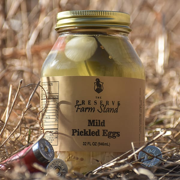 Mild Pickled Eggs 32oz Preserve Farm Stand