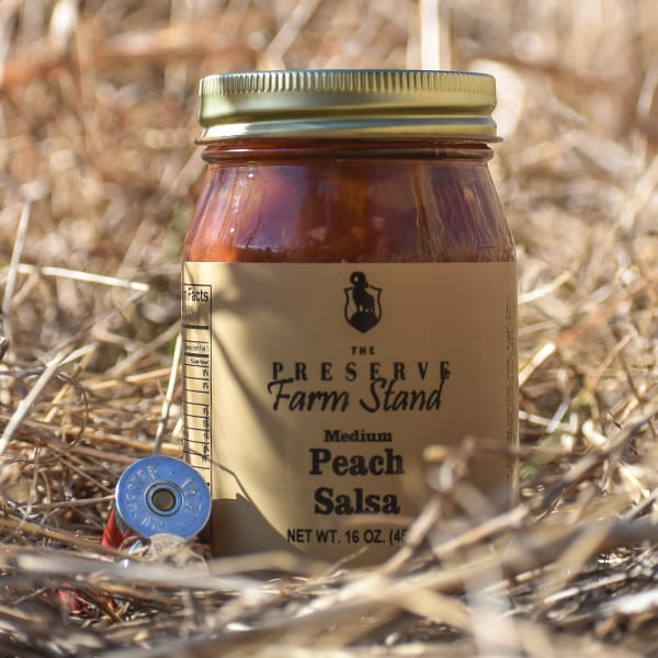Preserve Farm Stand – Peach Salsa (Medium) 16oz Preserve Farm Stand