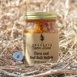 Corn and Red Bell Relish 16oz Preserve Farm Stand