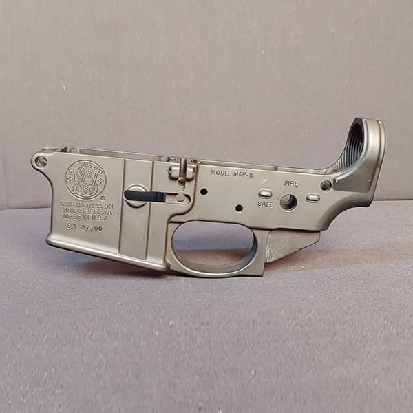 Pre-Owned – Smith & Wesson M&P15 Stripped Lower Receiver Firearm Accessories