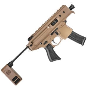 SIG Sauer MPX Copperhead 9mm Luger Semi Auto 3.5″ Pistol Firearms