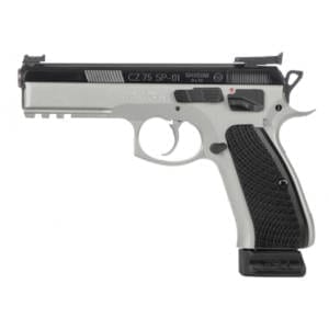 CZ 75 SP-01 Shadow Custom Dual Tone 9mm 4.61″ Handgun Firearms
