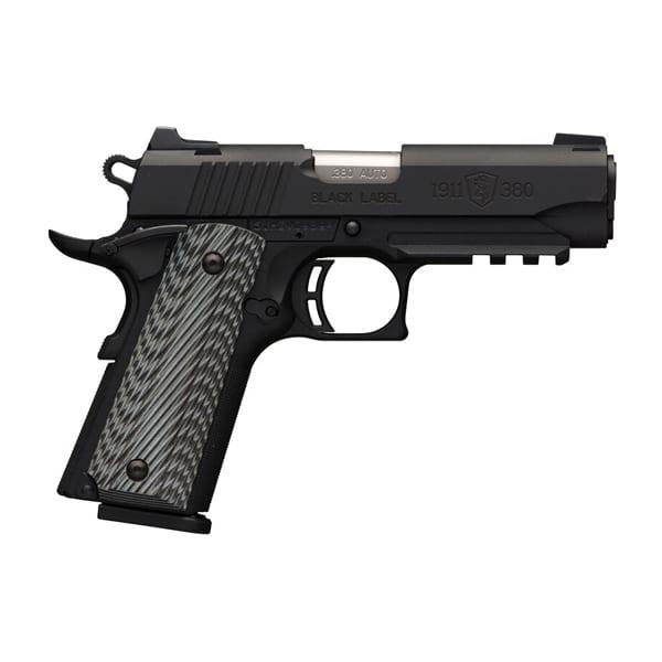 Browning 1911-380 Semi-Auto .380 3.625″ Pistol Firearms